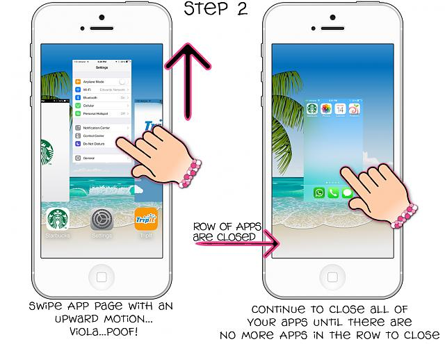 closing apps on iphone guide how to apps in ios7 iphone ipod 1473