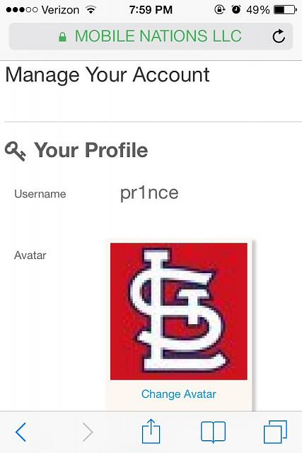GUIDE] How to change your avatar - iPhone, iPad, iPod Forums at