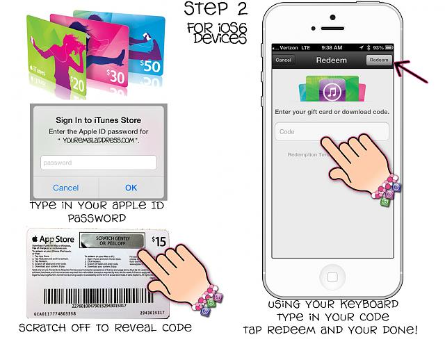 how to pay using itunes gift card