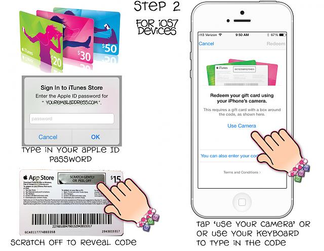 itune gift card balance guide how to redeem your itunes gift card iphone ipad 1450