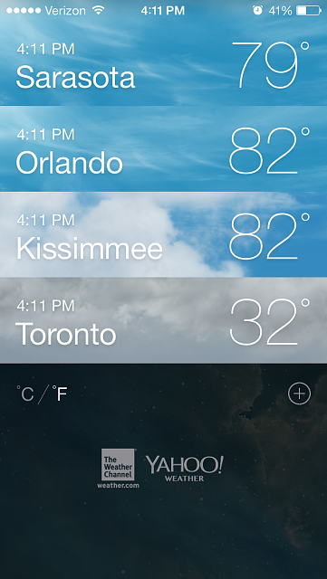 [GUIDE] How To Set More Than One Location in the iOS 7 Weather App-img_0276.png