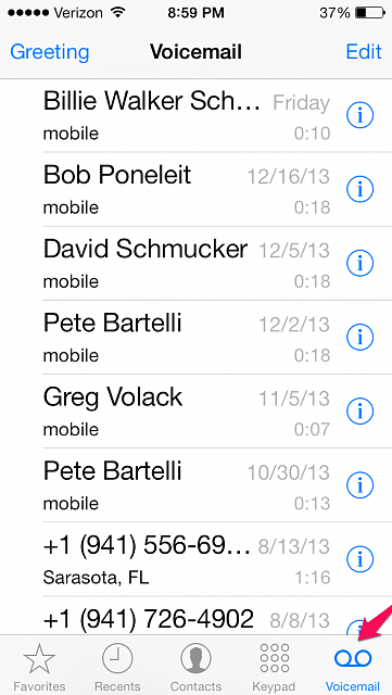 iphone default voicemail greeting guide how to create a quot custom quot voicemail greeting via 15240