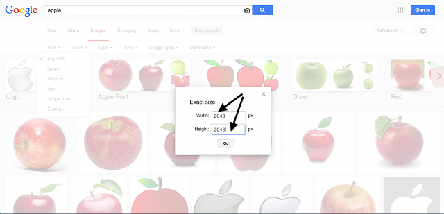 [GUIDE] How To Search Google For An Exact Image Size-nine.png
