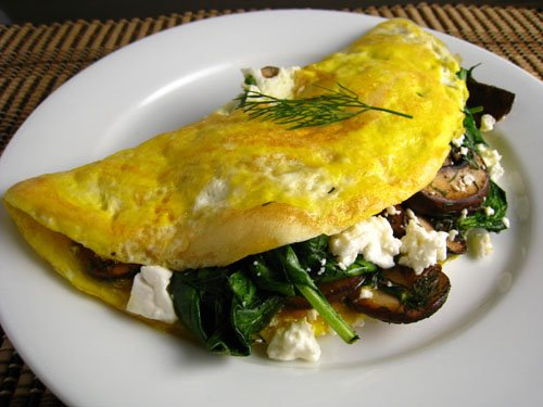 The iMore 20K / 50K Post Challenge - Are you up for it?-ceres-mushroom-spinach-omelet.jpg