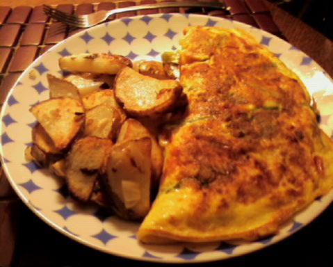 The iMore 20K / 50K Post Challenge - Are you up for it?-omelet-potatoes.jpeg