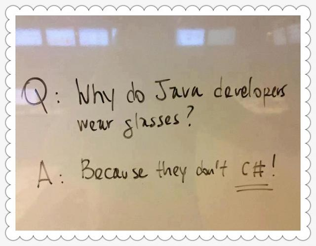 "Programmer Jokes, just another ""Off Topic"" thread in iMore?-why-do-java-developers-wear-glasses.jpg"