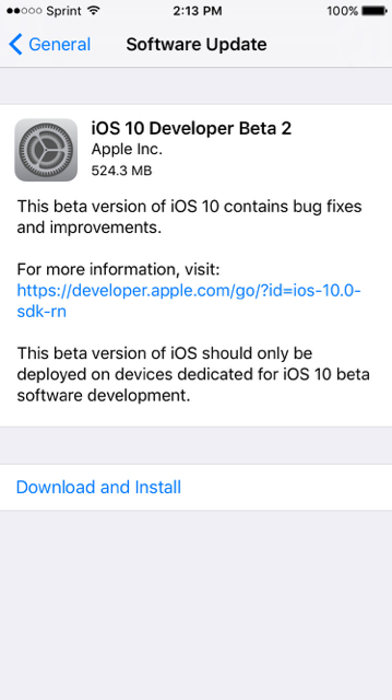 iOS Developer Beta 2 Now Live-imageuploadedbyimore-forums1467742513.621980.jpg