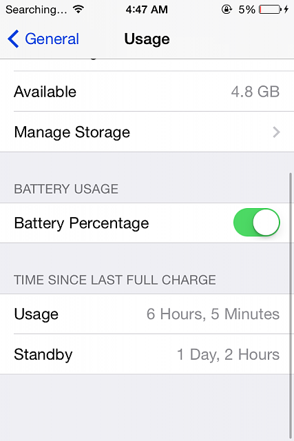 iOS 7.1...How's your battery life?-img_2156.png