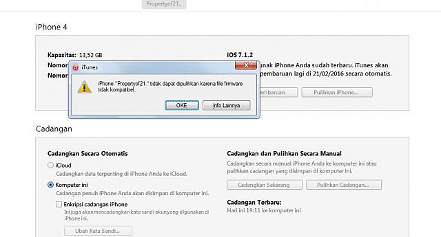iTunes - Firmware not compatible? - Page 3 - iPhone, iPad