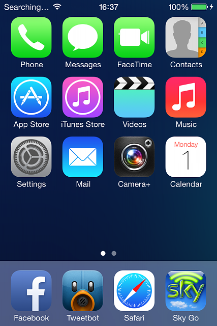 IOS 7 Wallpaper And IPhone 4 Problem Img 2513