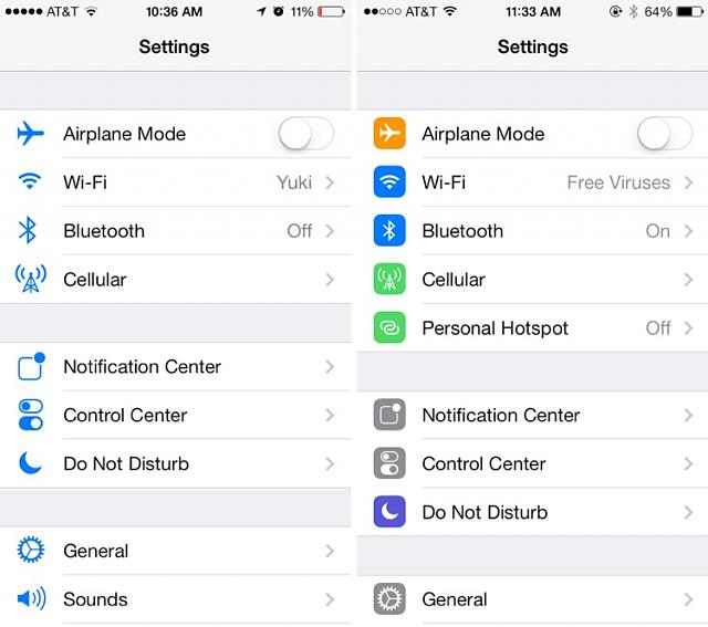 Some truth to late iOS7 Leaks?-settings.jpg