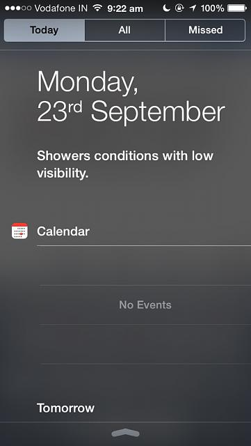 Ios 7 and calendar issue in notification centre!-imageuploadedbyimore-forums1379908361.359025.jpg