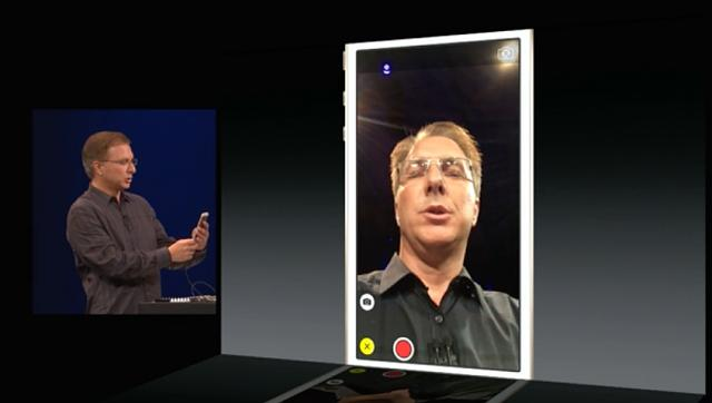 Anyone else notice a difference in the camera app during presentation and that bundled with the beta-screenshot.jpg