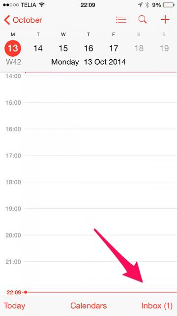 Bug in Calendar app? I can't clear inbox message-imageuploadedbyimore-forums1413231422.711113.jpg
