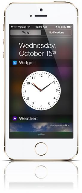 Looking for a good clock app for IOS 8 (Clock on top to small to do a fast glance)-imageuploadedbytapatalk1413382358.595368.jpg