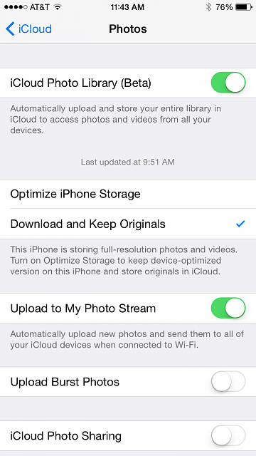 Is there a way to just have iCloud backup my photos?-img_0089.png