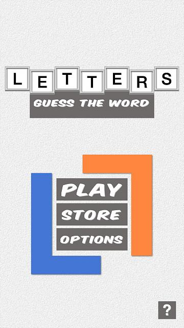 Letters - Guess The Word -- An Addictive New Game!-tittlescreen_1242x2208.jpg