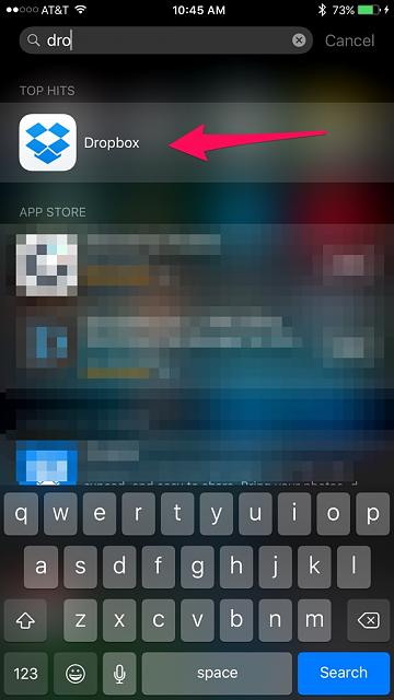 How do I search for an app in the iOS 9-imageuploadedbytapatalk1439650015.277193.jpg