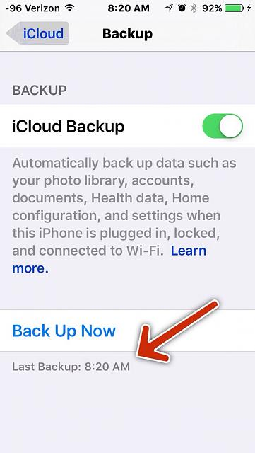 "After upgrade to iOS9, iCloud backup says 0 bytes, and all apps have ""no data""-imageuploadedbytapatalk1442582694.637573.jpg"