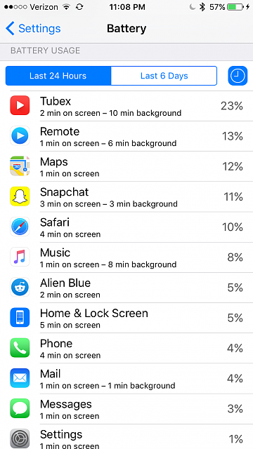 Battery life worse than iOS 8?-img_4563.png