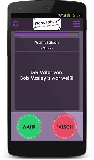 Quiz-, Mini- and Brain Games against Friends in one App [Beta Testers Wanted]-game_wahr_falsch.jpg