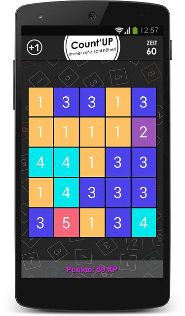 Quiz-, Mini- and Brain Games against Friends in one App [Beta Testers Wanted]-game_countup.jpg