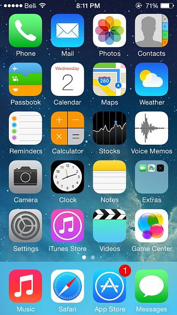 How organized is your ios homescreen iphone ipad ipod for Cool way to arrange iphone apps