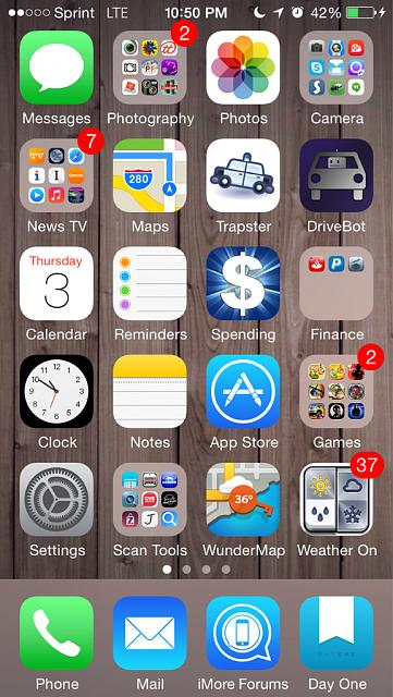 How organized is your ios homescreen iphone ipad ipod for Ideas for iphone apps