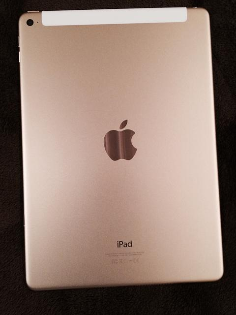 What do you think of the looks of the Gold iPad Air 2?-imageuploadedbytapatalk1419393885.049676.jpg