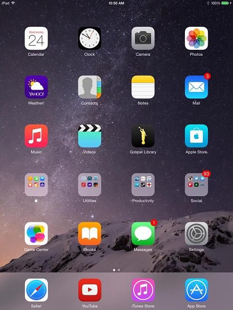 how to get to the lock screen on ipad