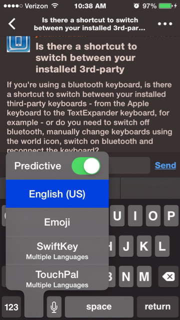 Is there a shortcut to switch between your installed 3rd-party keyboards via  a Bluetooth Keyboard?-imageuploadedbytapatalk1413819549.339884.jpg