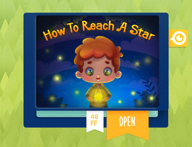 Little Stories. Fairy tales, in which your child becomes a main character!-how-reach-star.png