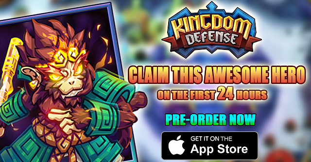 Kingdom Defense: Hero Legend is now available for Pre-order.-fanpage.png