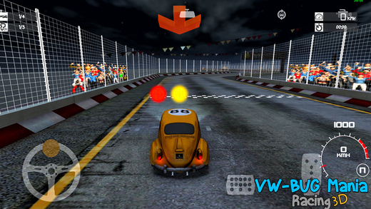 Car Racing Vw Bug Mania Awd 3d Free Game Iphone