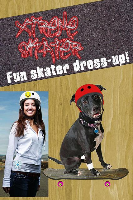 X Treme Skate Skateboarder Picture Editor - Free Download for iPad and iPhone Available now-skate01_main640.jpg