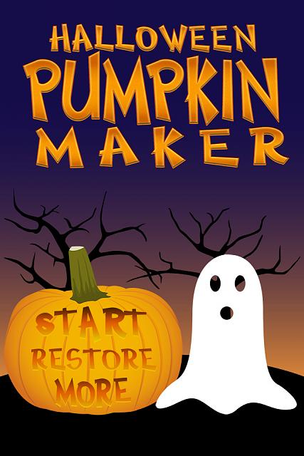 Halloween Ecard Greetings - Jack O' Lantern Pumpkin Maker - FREE for iPad & iPhone Avail Now-pumpkin-screen1-main-640.jpg