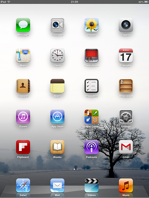 Show us your iPad Mini Lock and Home screen:-img_0014.png