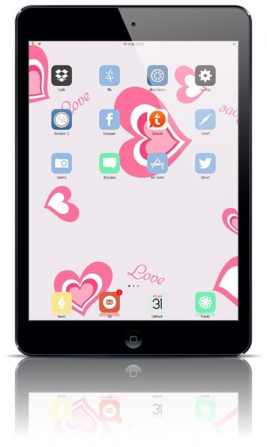 Show us your iPad Mini Lock and Home screen:-imageuploadedbytapatalk1391196952.290463.jpg