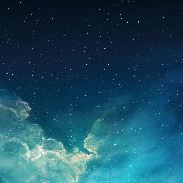 How can I restore my iPad lock screen's original starry night sky wallpaper?-2.jpg