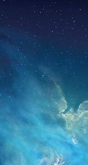 How can I restore my iPad lock screen's original starry night sky wallpaper?-sky.jpg