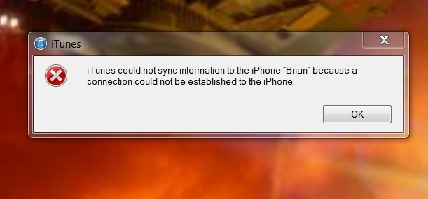itunes could not sync information to iphone because a connection could not be established-itunesync.jpg