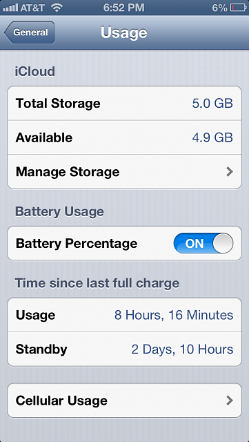 How is your iPhone 5 battery life?-img_0012.png