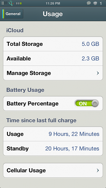 How is your iPhone 5 battery life?-img_3865.png