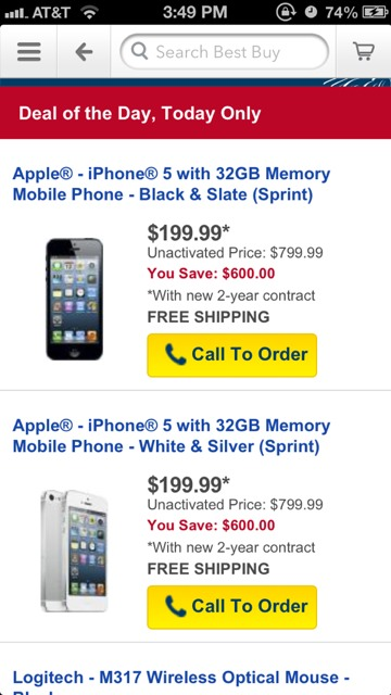Monster iPhone 5 discount! (Giant Best Buy discount misprint)-imageuploadedbytapatalk1373143864.276668.jpg