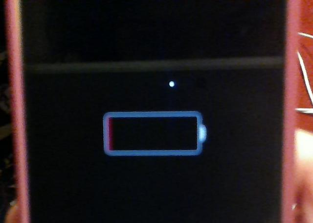 Iphone  Stuck On Red Battery Screen