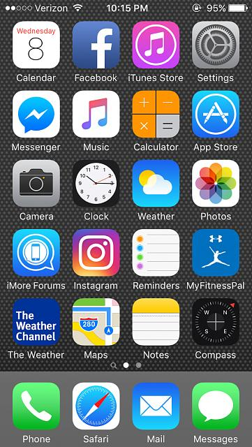 Show us your iPhone 5C Homescreen:-imageuploadedbyimore-forums1465513233.250659.jpg