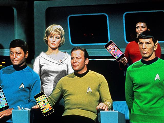 Official waiting up for iPhone 5c pre-orders pajama party!-iphone_5c_colors_startrek_spoof.jpg