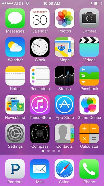 iphone 5c default wallpaper pink