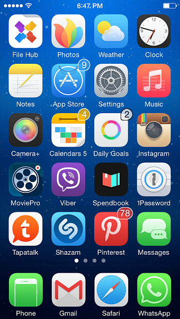 Show us your iPhone 5C Homescreen:-img_0007.png