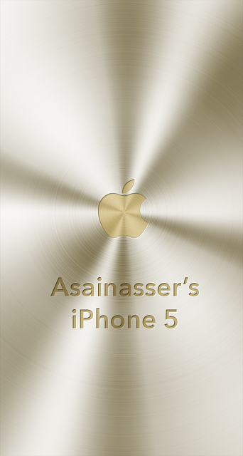iPhone 5/5c/5s Apple Nametag Wallpaper-8.png